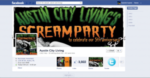 Austin City Living Custom Facebook Page 300x156 Social Media Marketing